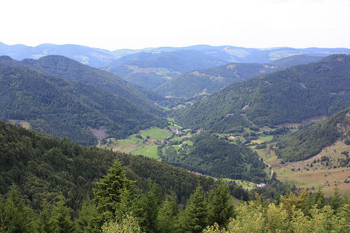 View on Präg near Todtnau